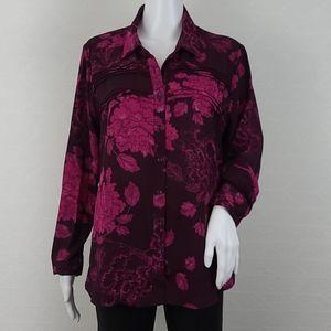 Nanette Lepore Floral Button Up